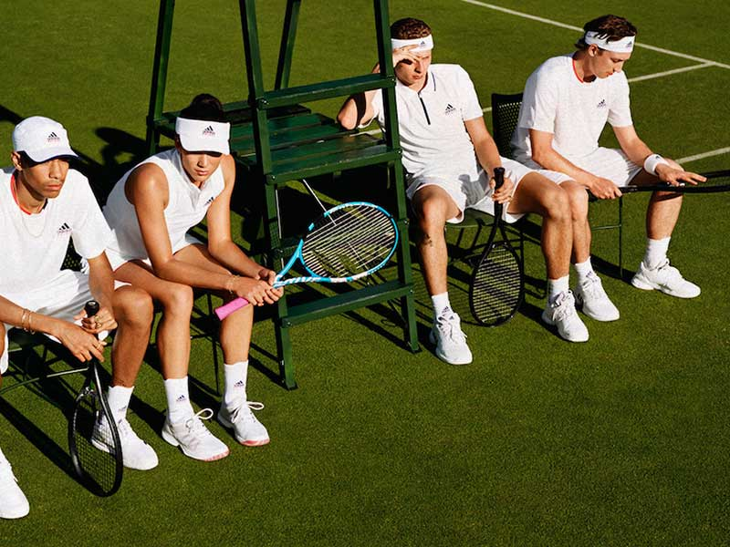 Tennis connects with streetwear