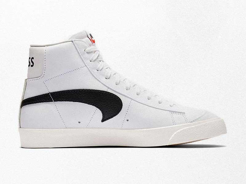 "Slam Jam x Nike Blazer ""Class 1977"" reverses Swoosh"