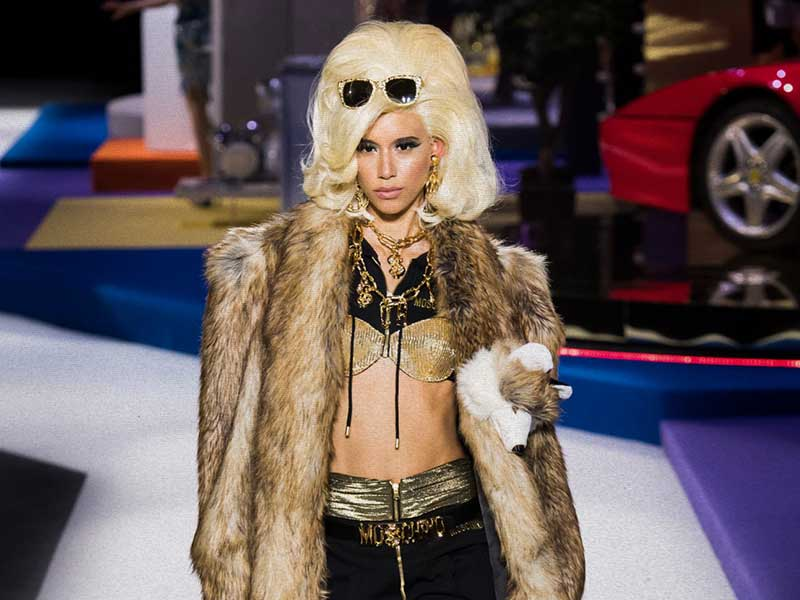 Moschino AW19 bets on television nostalgia