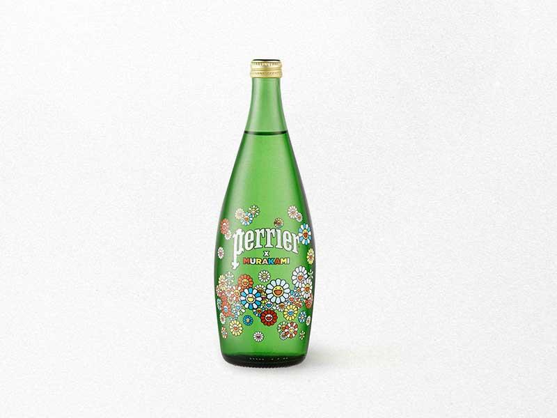 Takashi Murakami colabora con Perrier en botellas exclusivas