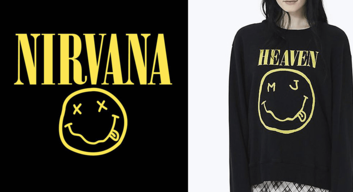 Marc Jacobs VS Nirvana