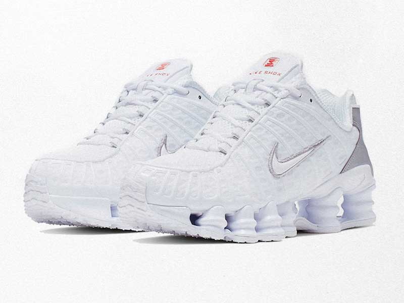 The Nike Shox TL will soon arrive in triple white