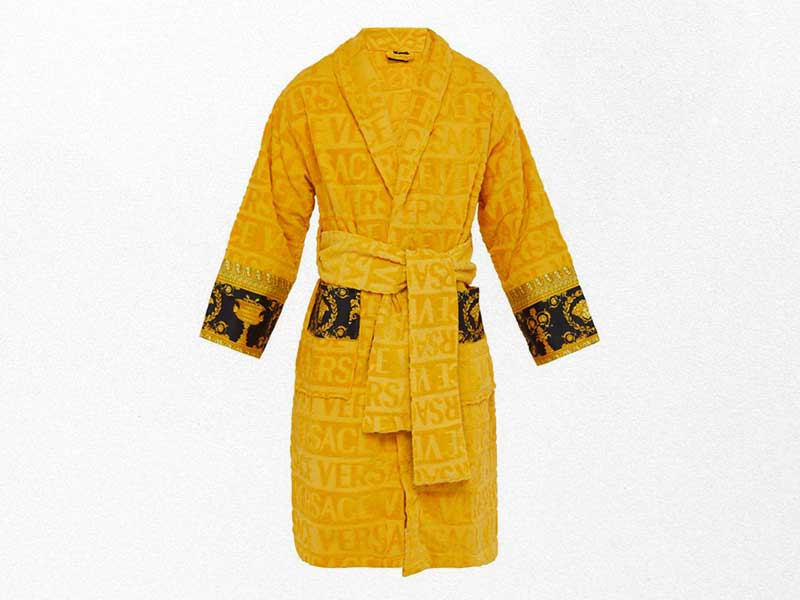Versace celebrates luxury with new bathrobes