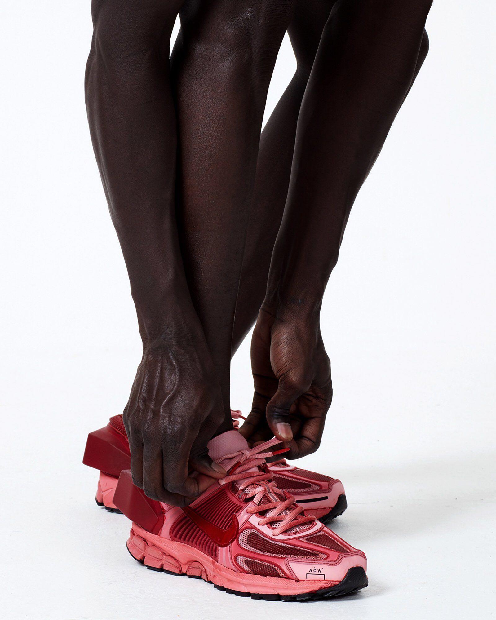 ACW x Nike Vomero 5 - Red