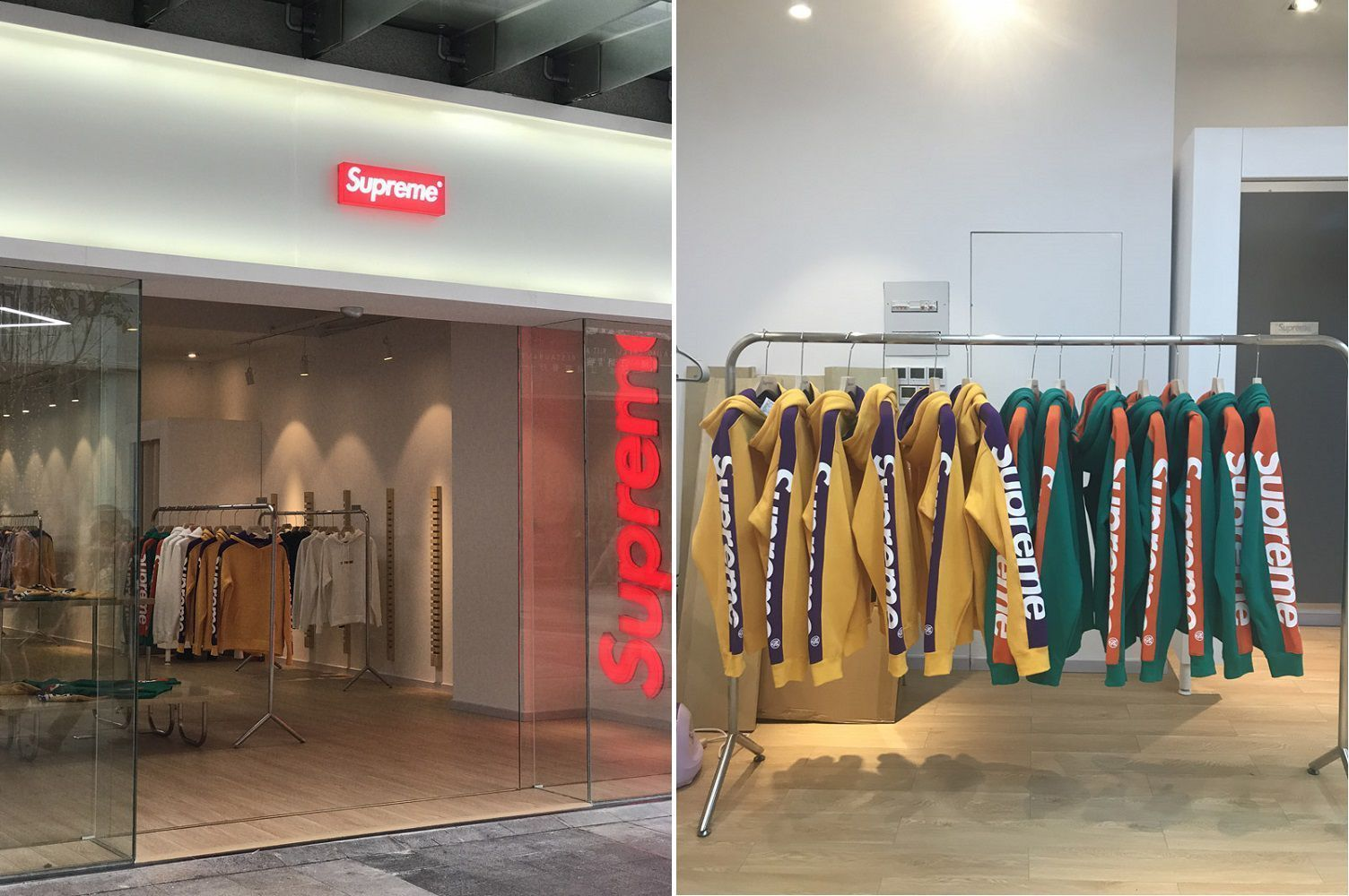 Fake Supreme store - China