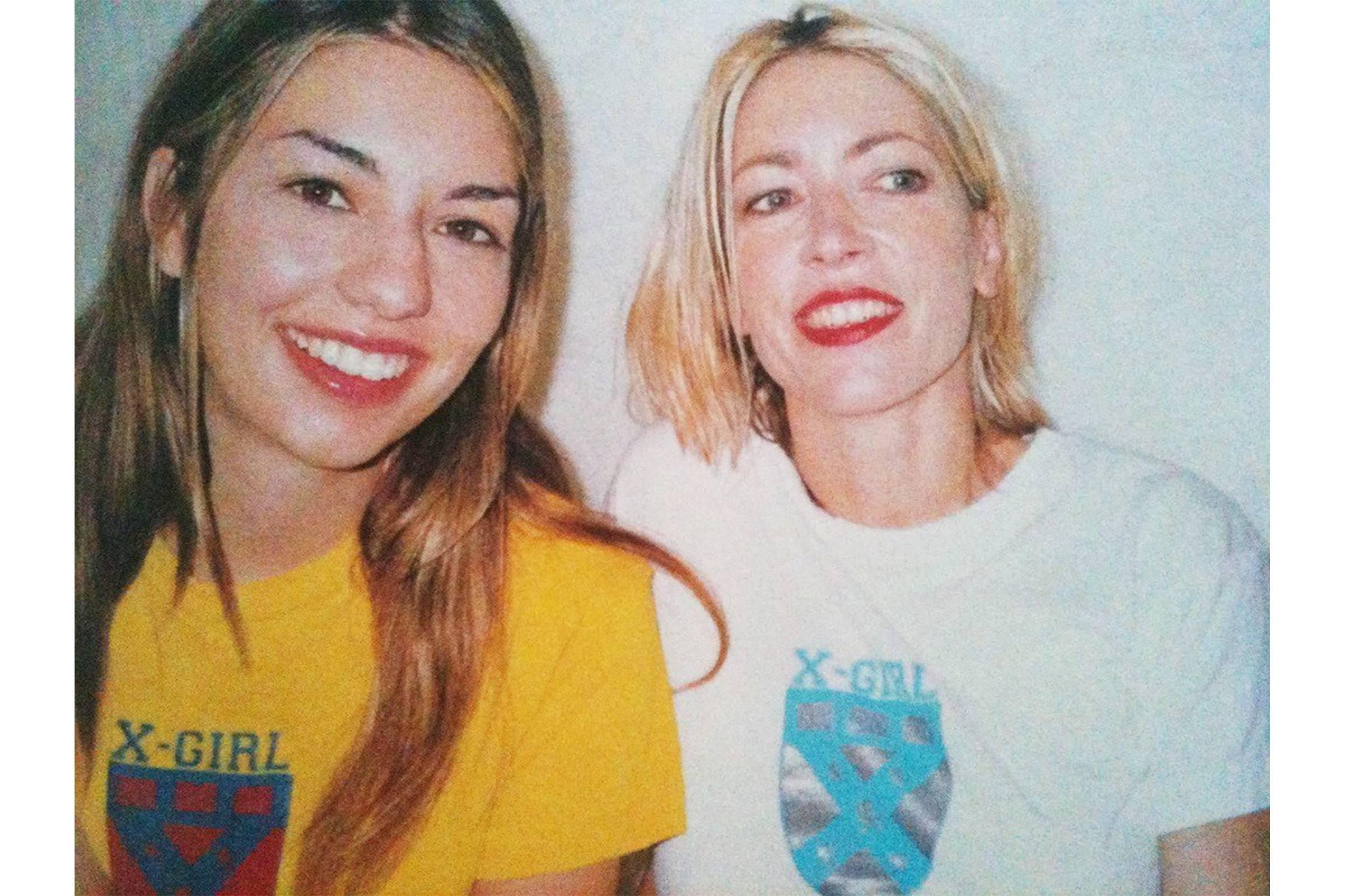 X-Girl - Sophia Coppola and Kim Gordon, 1990s. Photo: Takashi Homma
