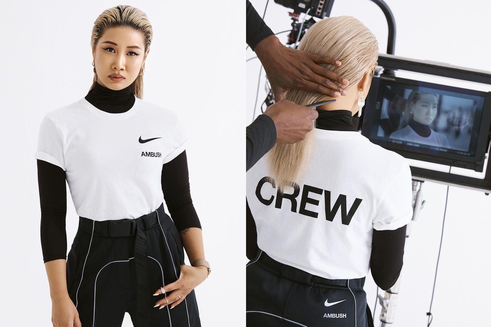 Yoon Ahn, Christelle Kocher, Marine Serre y Erin Magee x Nike