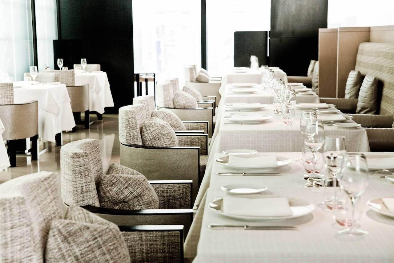 Restaurante de moda