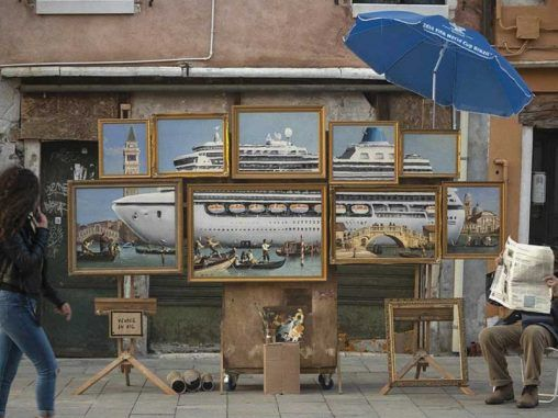 Police kick Banksy out of Venice Biennale