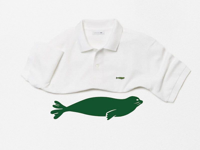 Lacoste changes the crocodile for endangered species