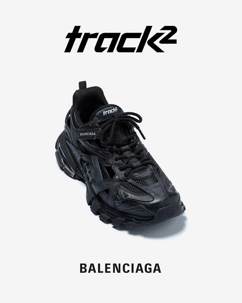 The new Balenciaga; Track 2 L Officiel