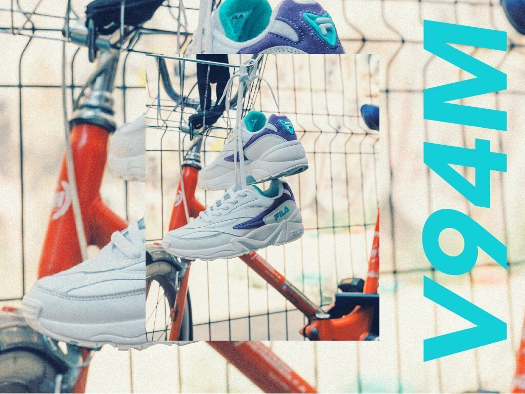 Fila V94M W/ Paula Cendejas, Recycled J & Ana Sotillo