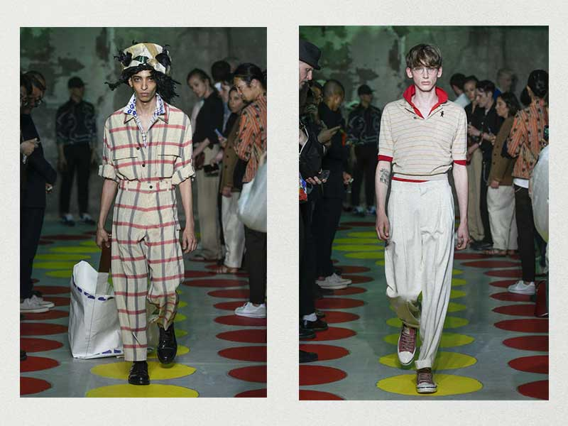 Truman Capote and Ernesto Guevara elevate the concept in Marni SS20