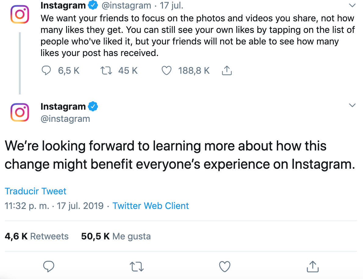 Instagram Communicate