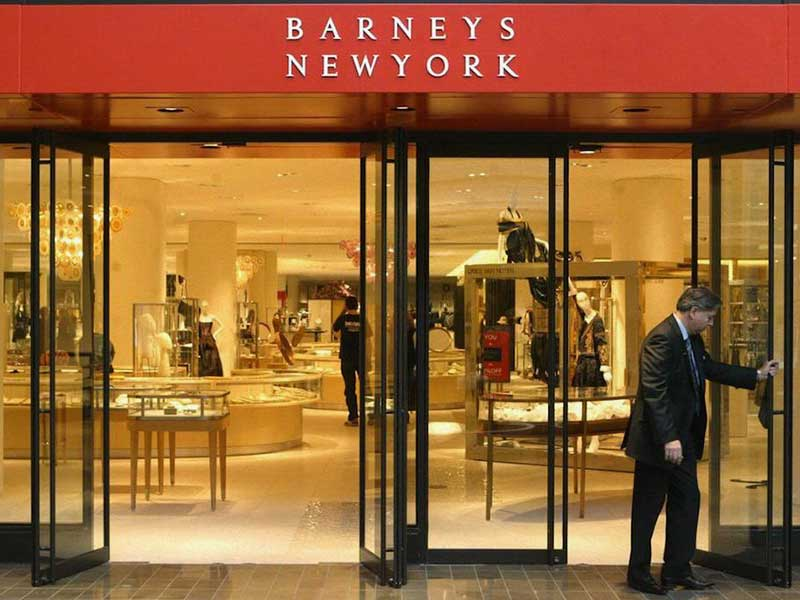 Barneys New York could be declared bankrupt in the next few weeks