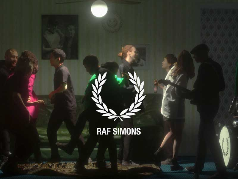 Fred Perry x Raf Simons > British Youth Energy of the 70s and 80s
