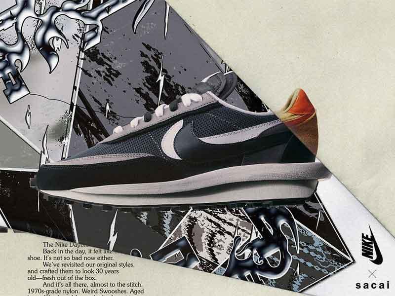 Nike x Sacai: Waffles & Blazers