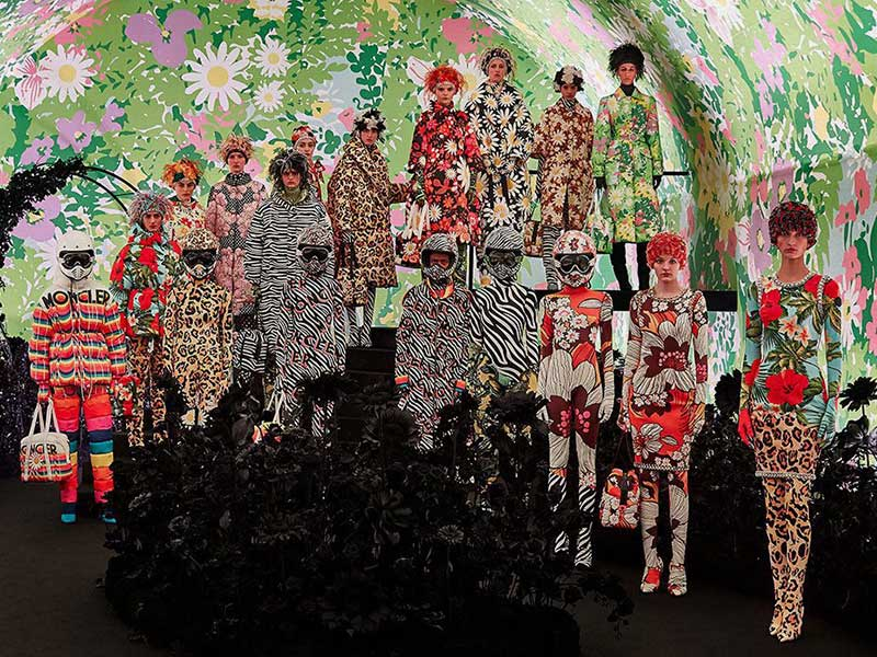 0 Moncler Richard Quinn – Flowers with a maximalist tendency