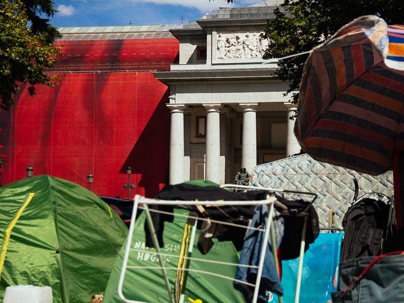 Reportaje: La ciudad «sin techo»