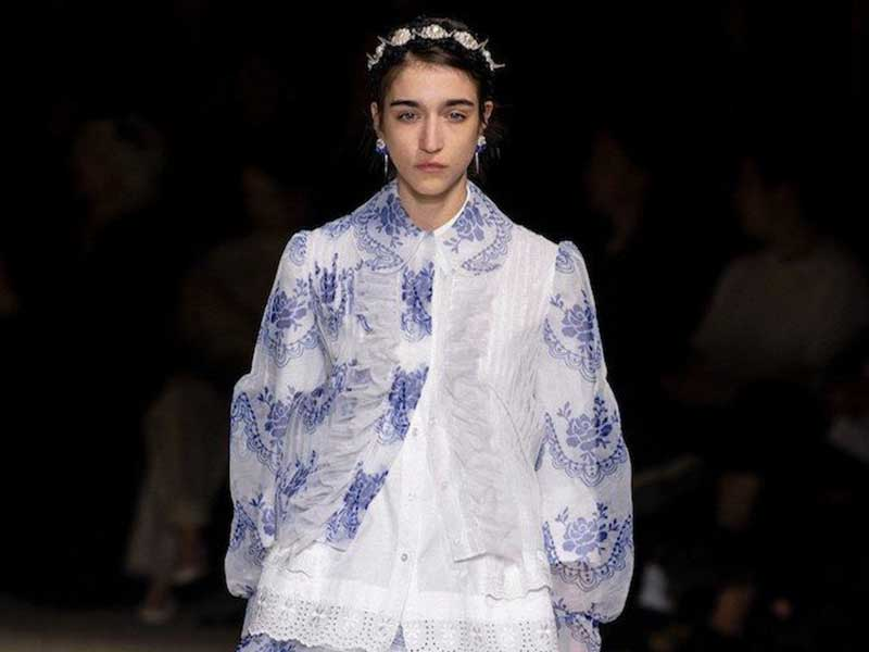 Simone Rocha SS20 inspired by Irish tradition