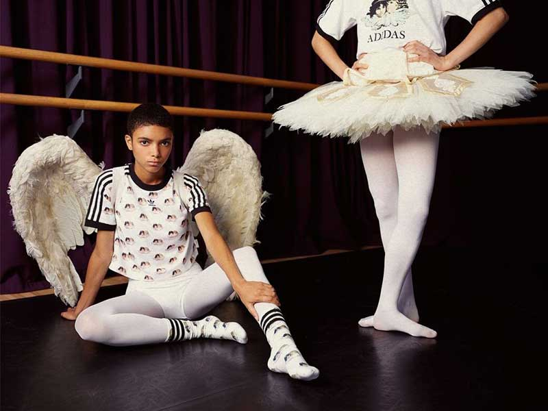 Fiorucci x Adidas Originals >>> Iconic cherubs are the protagonists