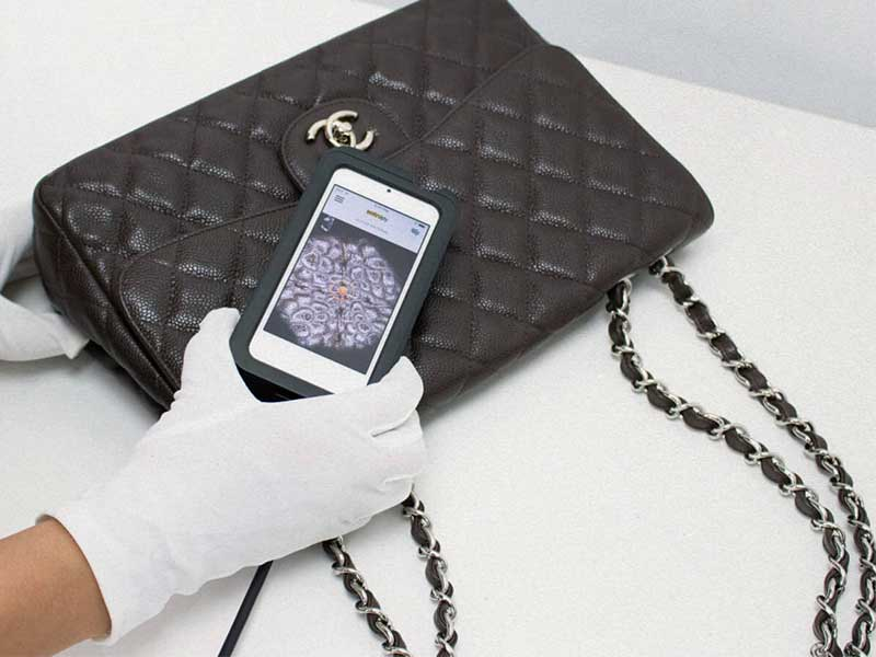 A LVMH app will be able to identify fake bags in less than 4 seconds