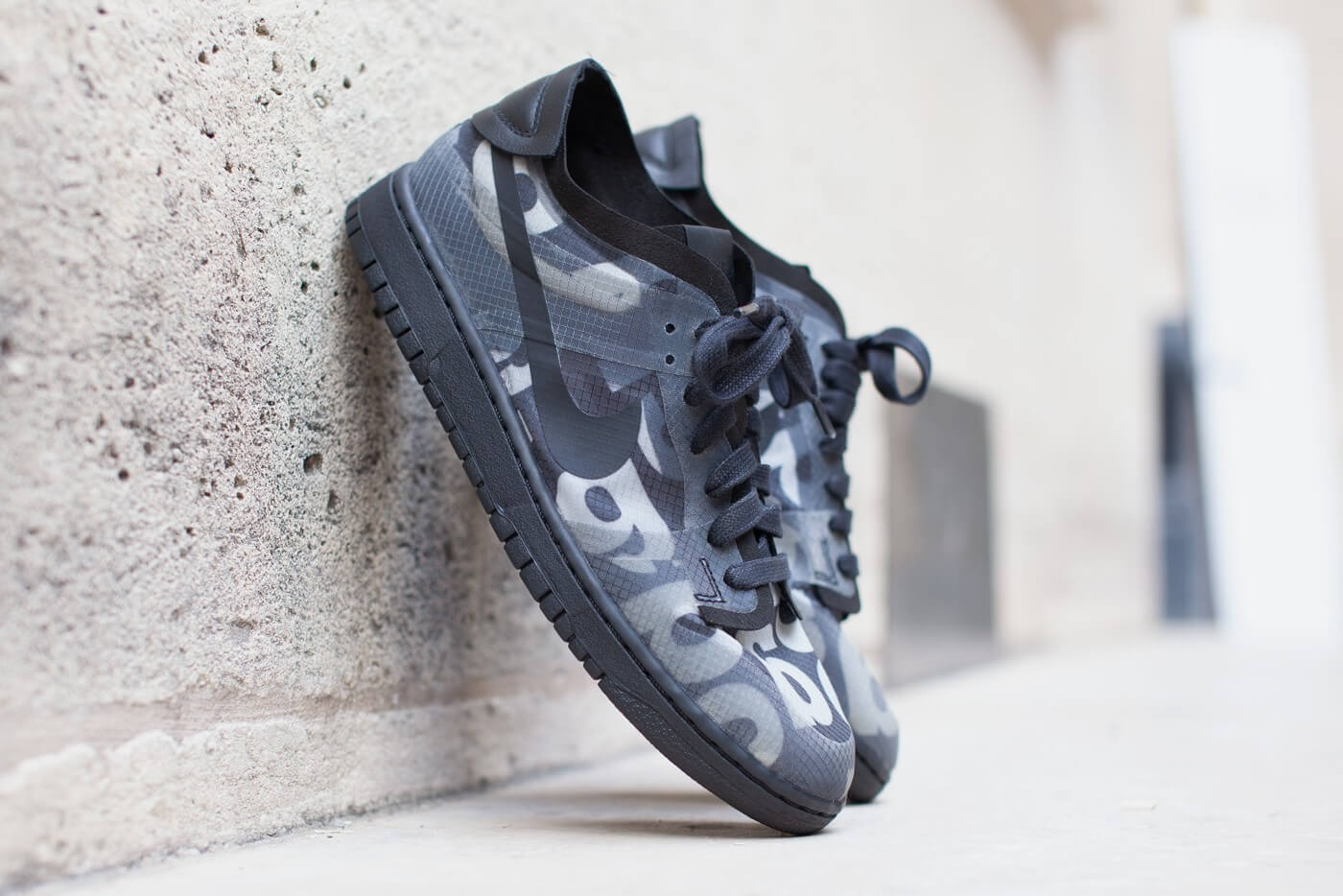 CDG goes hard with this Nike SB Dunks