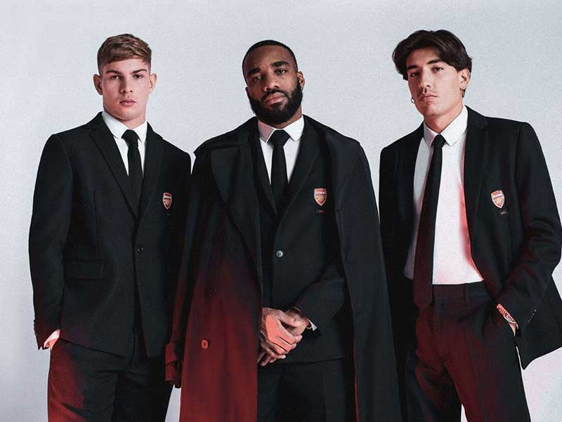 Arsenal FC x 424 | The perfect match between streetwear and professional football