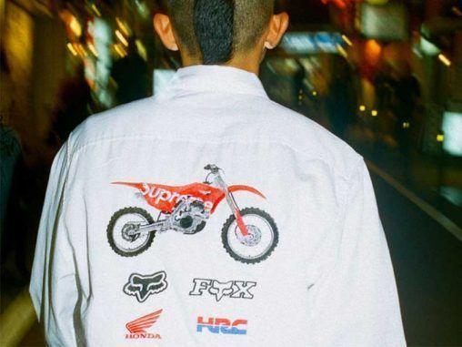 Supreme x Honda
