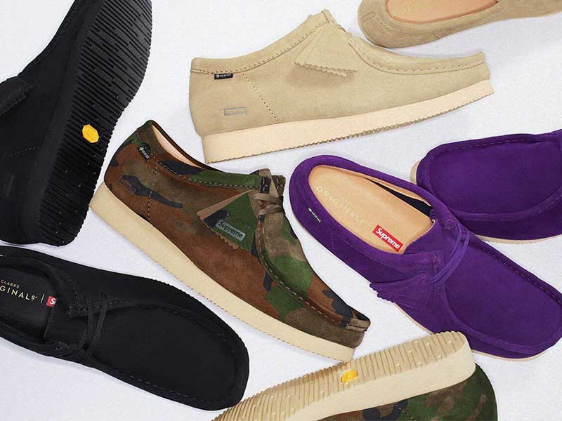 wallabees supreme