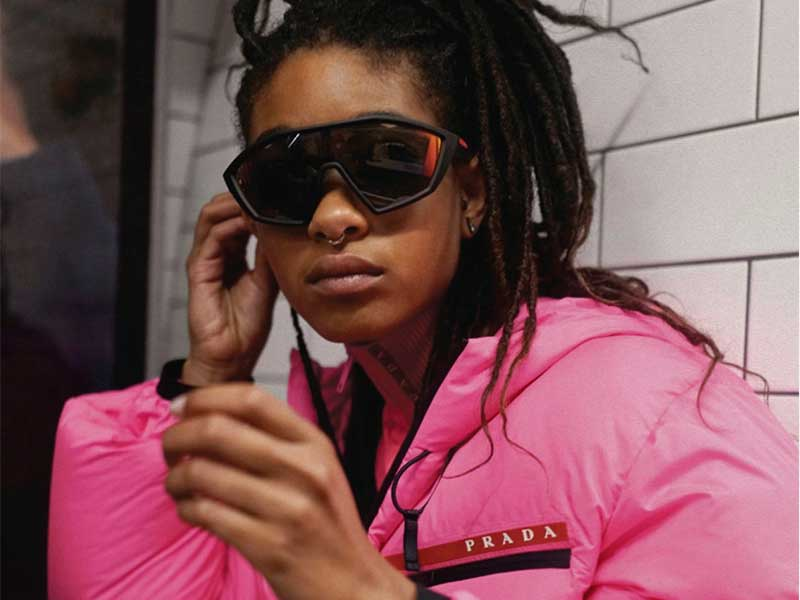 Willow Smith presents Prada Linea Rossa FW19 by surprise