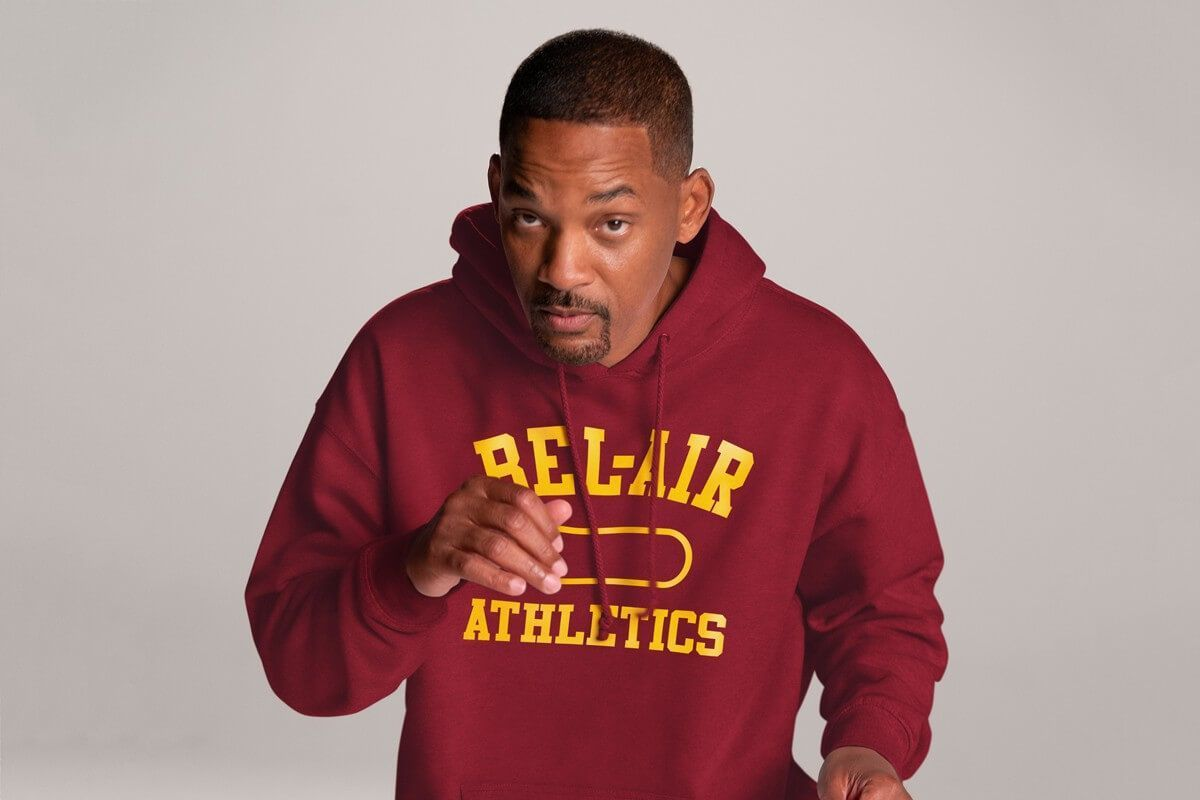 WILL SMITH BEL AIR ATHLETICS