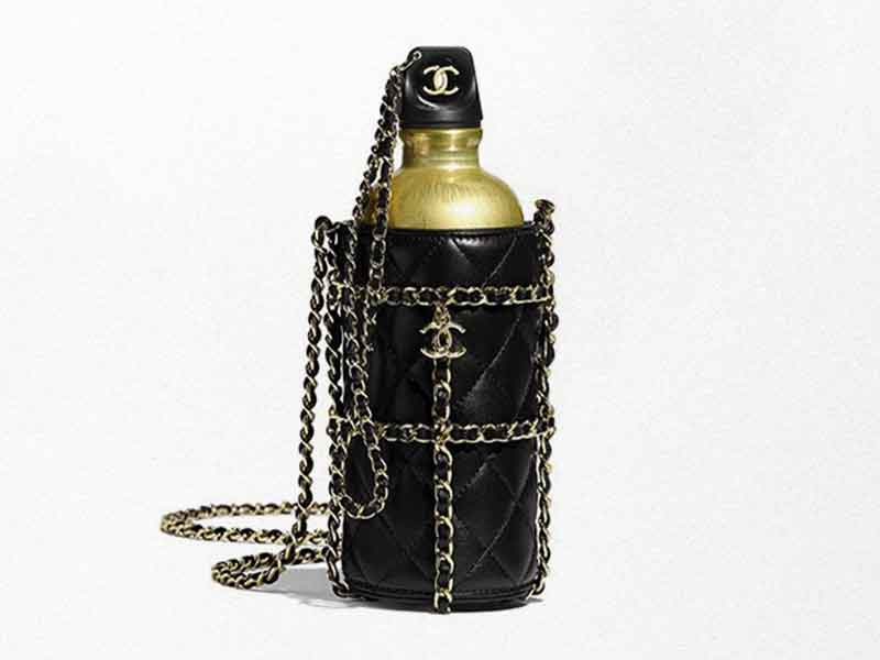 How much does Chanel's flask cost?