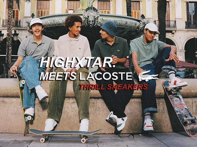 "HIGHXTAR. meets Lacoste ""Thrill"" Sneakers"