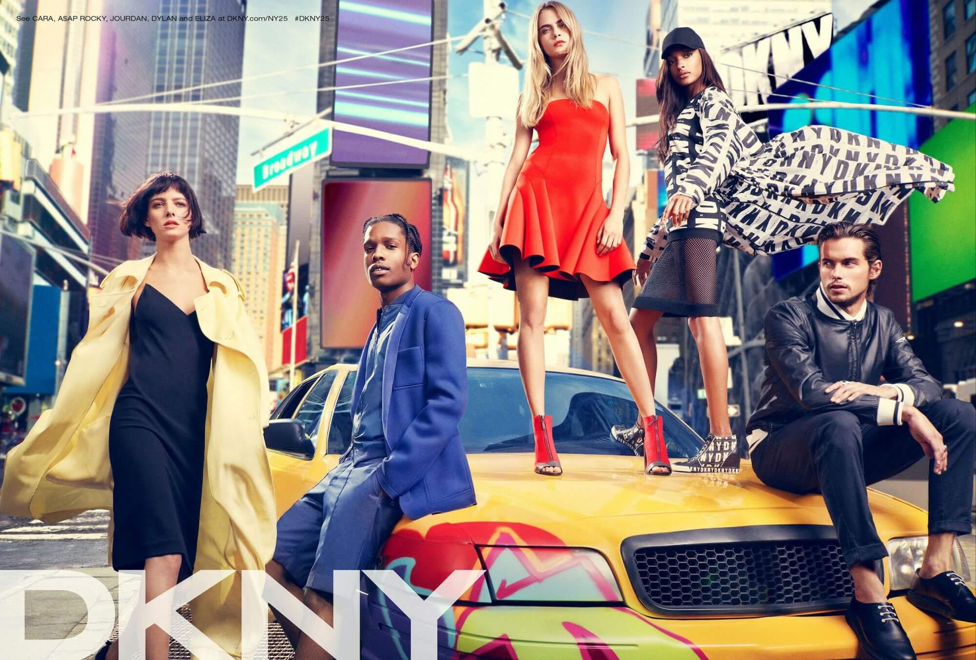 DKNY campaign