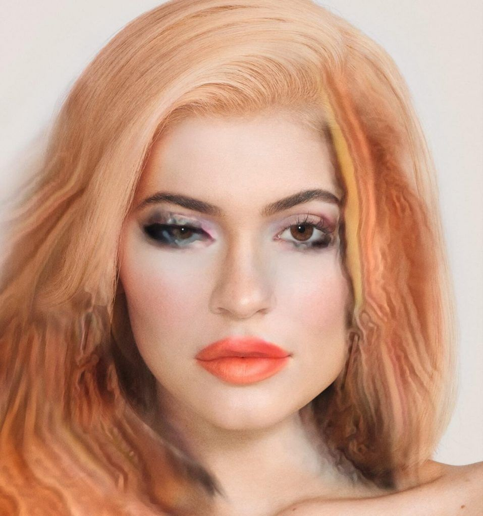 Kylie Jenner AI cover