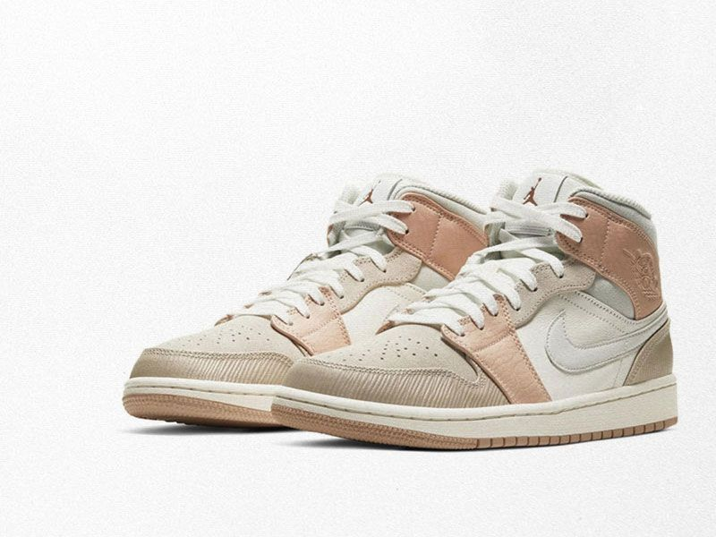 Air Jordan 1 Mid brings together the Milanese essence