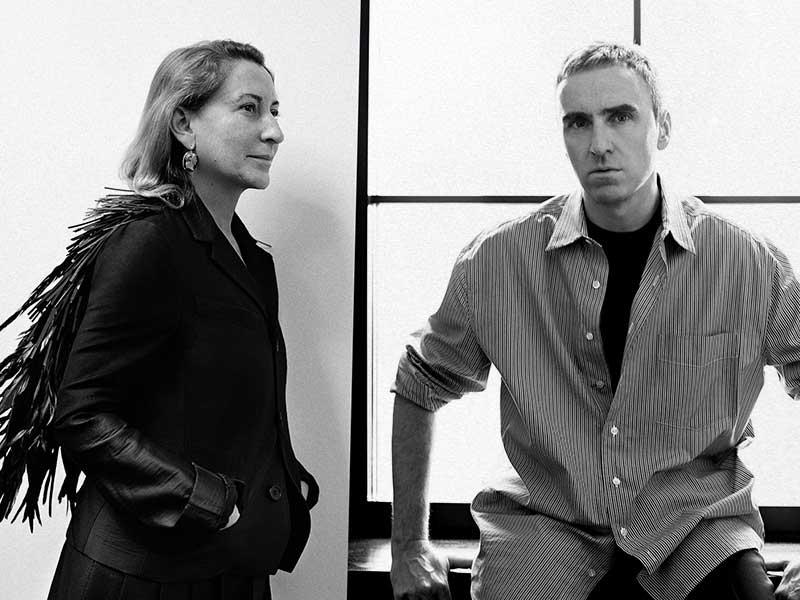 Confirmado: Raf Simons trabajará con Miuccia para PRADA