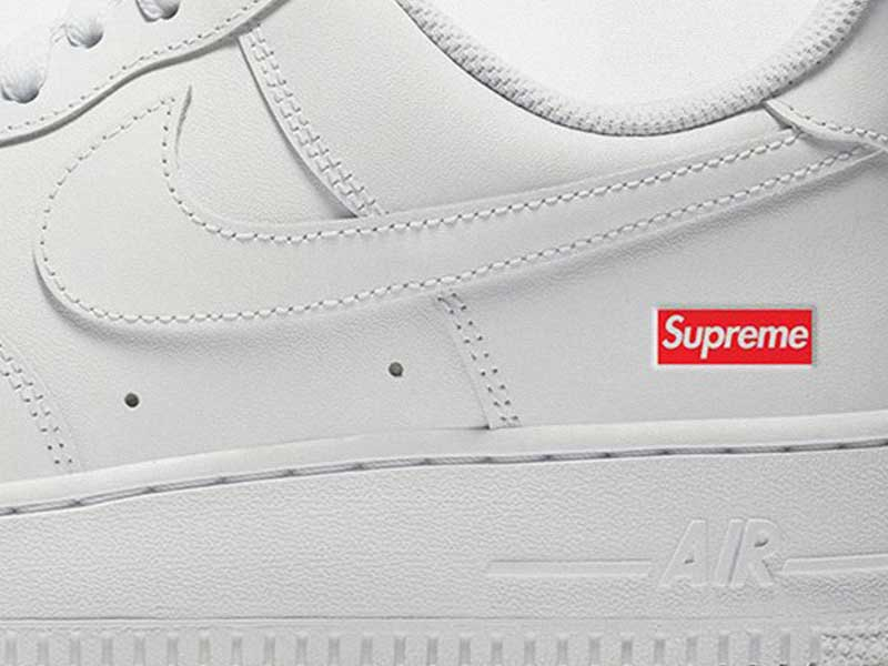 Supreme x Nike Air Force 1 Low | Menos es más