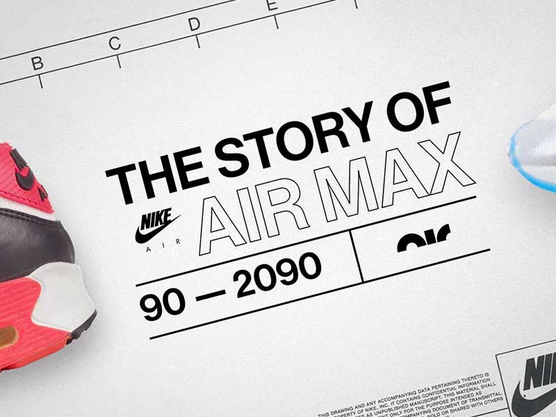 The Story of Air Max: 90 to 2090 | The story of a legacy