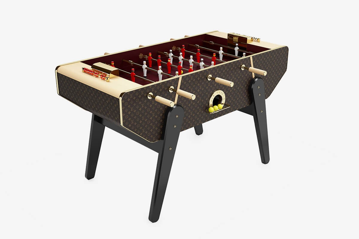 LOUIS VUITTON FOOSBALL TABLE