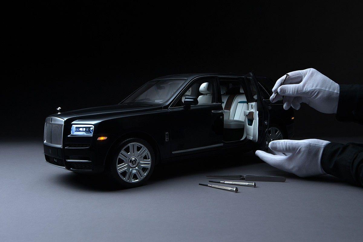 Miniatura Cullinan de Rolls-Royce
