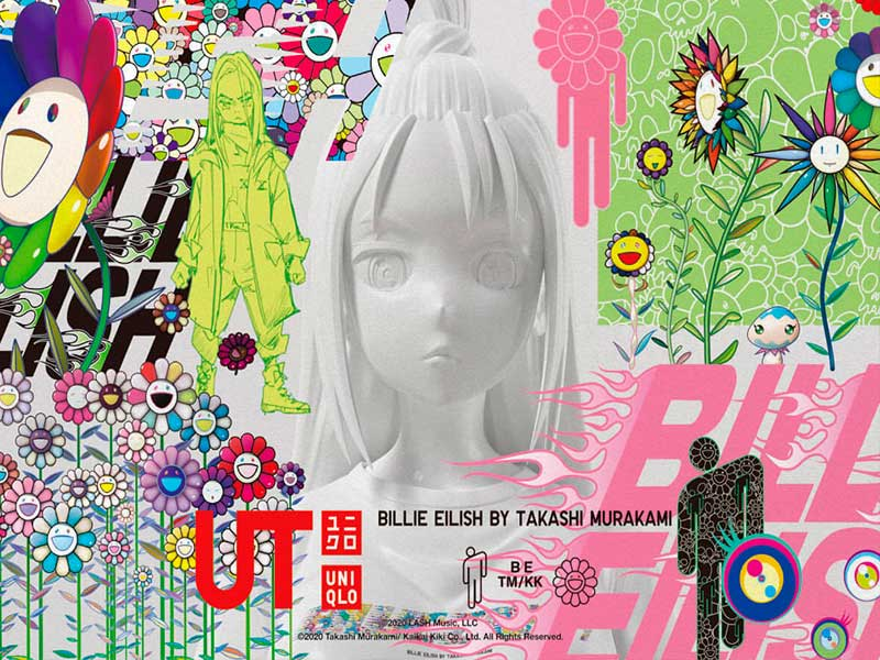 Billie Eilish x Takashi Murakami by UNIQLO