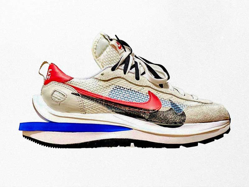 The Sacai x Nike Vaporwaffle lands in a new colorway