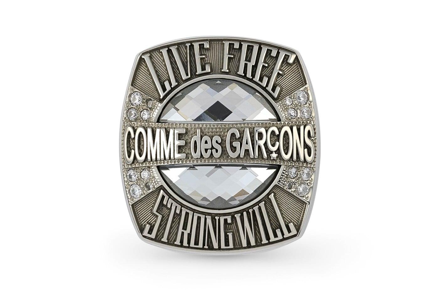 COMME des GARÇONS brings back its championship rings | HIGHXTAR.