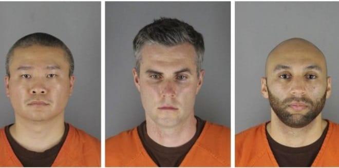 Policías acusados por el asesinato de George Floyd