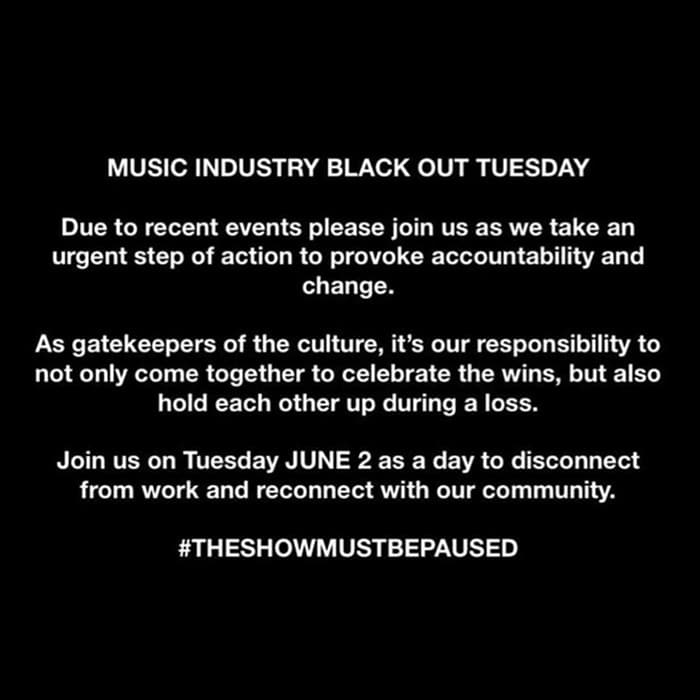 Warner records blackout