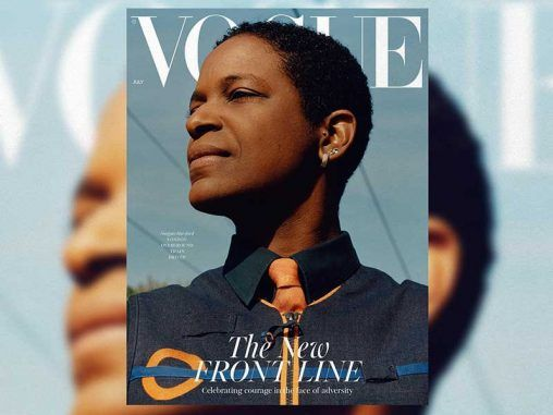 Vogue UK homenaje
