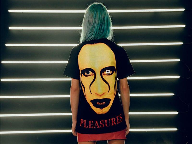 Pleasures x Marilyn Manson