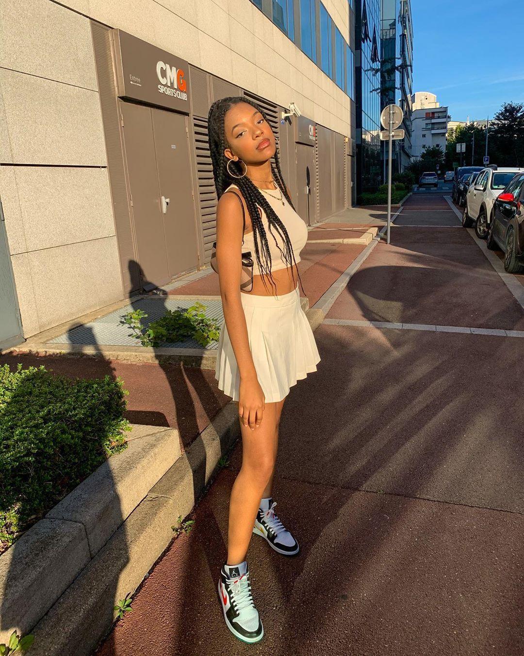 Falda de tenis, tendencia verano 2020
